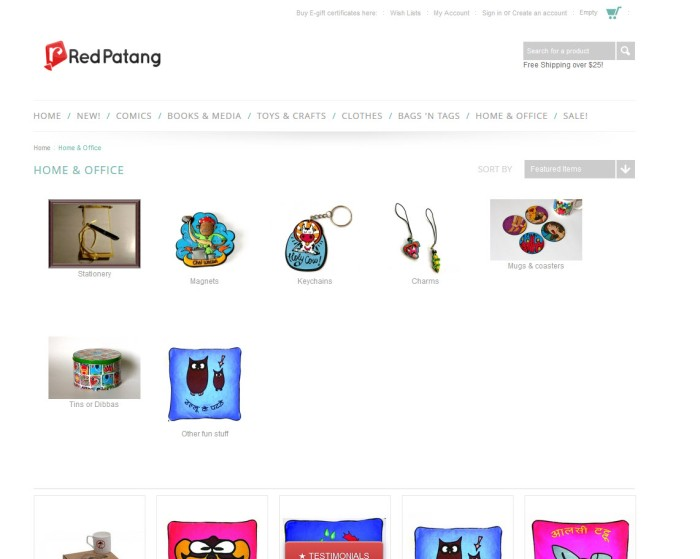 Redpatang.com has a new look!