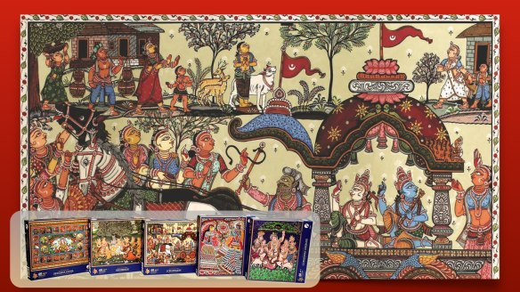 New Products Indian Art In Puzzles